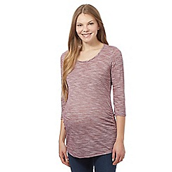 Red Herring Maternity - Red scoop neck top