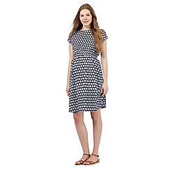 Red Herring Maternity - Navy daisy print dress