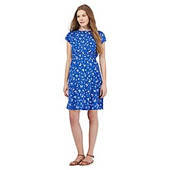 Red Herring Maternity - Blue butterfly print dress