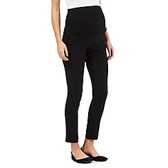 Red Herring Maternity - Black bengaline trousers