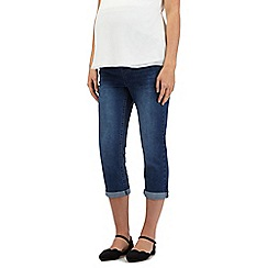 Red Herring Maternity - Mid wash 'above the bump' maternity jeans