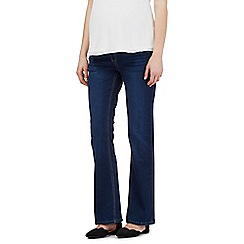 Red Herring Maternity - Blue bootcut jeans