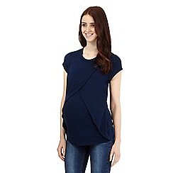 Red Herring Maternity - Navy nursing top