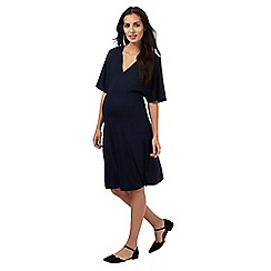 Red Herring Maternity - Navy kimono dress