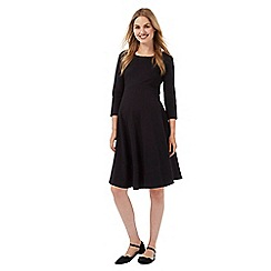 Red Herring Maternity - Black cut-out back dress