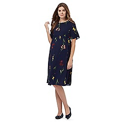 Red Herring Maternity - Navy floral print maternity dress