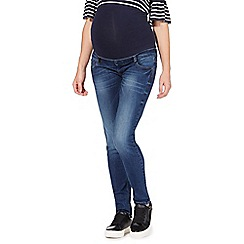 Red Herring Maternity - Blue over the bump skinny jeans