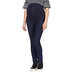 Red Herring Maternity - Dark blue maternity over the bump skinny jeans