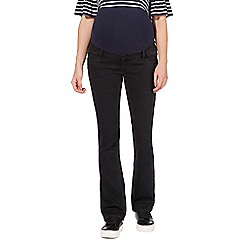 Red Herring Maternity - Black over the bump bootcut jeans