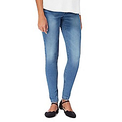 Red Herring Maternity - Mid blue maternity jeggings