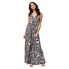 RJR.John Rocha - Grey printed maxi dress