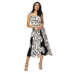 RJR.John Rocha - Multi-coloured floral print maxi dress