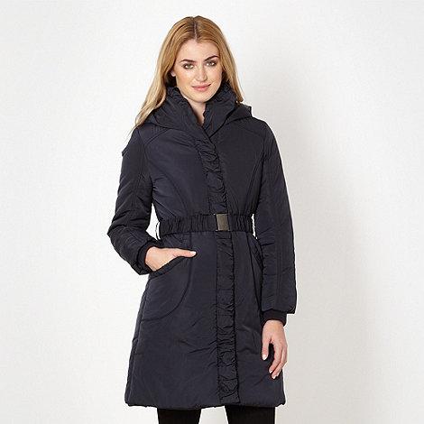 RJR.John Rocha - Designer navy padded parka jacket