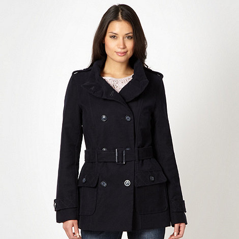 RJR.John Rocha - Designer navy double breasted coat