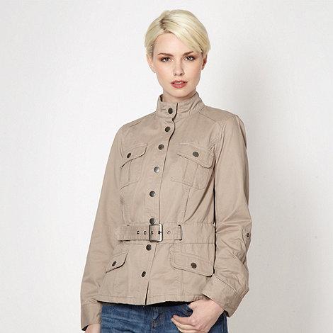 RJR.John Rocha - Designer beige twill jacket