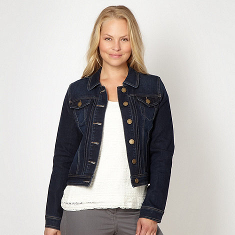 RJR.John Rocha - Designer dark blue denim jacket