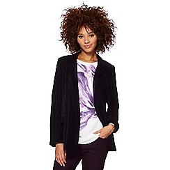 RJR.John Rocha - Purple velvet blazer