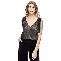 RJR.John Rocha - Gold metallic camisole top