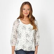 Designer ivory dove top