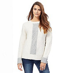 RJR.John Rocha - Ivory cable knit jumper