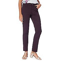 RJR.John Rocha - Purple 'Elsa' straight leg jeans
