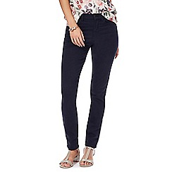 RJR.John Rocha - Navy 'Brooke' high-waisted slim leg jeans