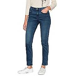 RJR.John Rocha - Mid blue 'Brooke' high waisted slim fit jeans