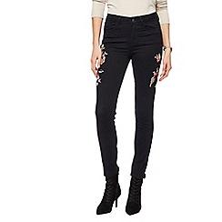 RJR.John Rocha - Black 'Brooke' high-waisted slim leg jeans