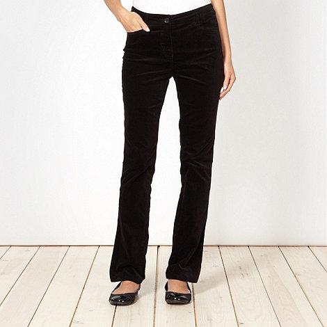 RJR.John Rocha - Designer black cord trousers