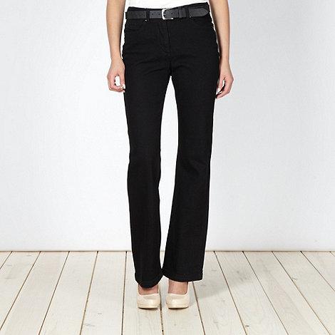RJR.John Rocha - Shape enhancing black bootcut jeans