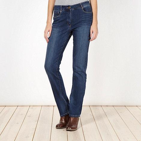 RJR.John Rocha - Designer blue straight leg jeans