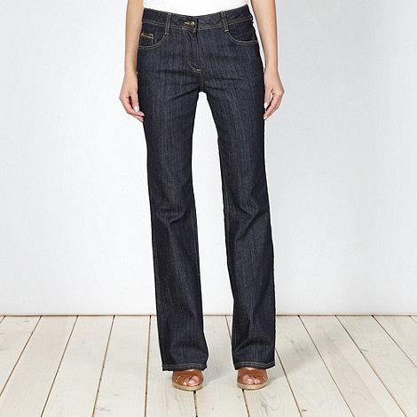 RJR.John Rocha Petite - Petite designer mid blue bootcut jeans