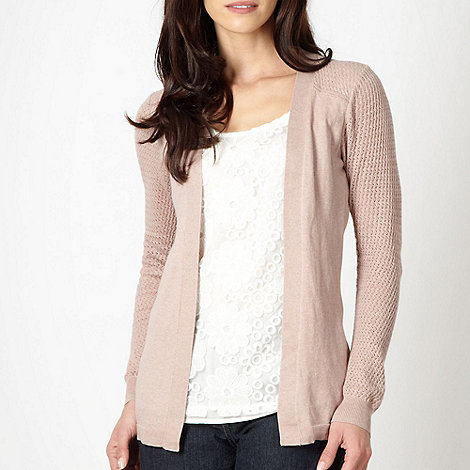 RJR.John Rocha - Designer pale pink 2 in 1 lace top