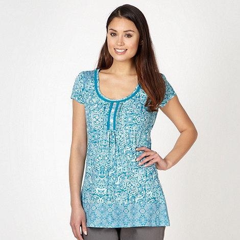 RJR.John Rocha - Designer turquoise floral tunic
