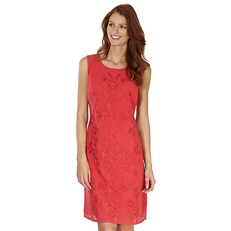RJR.John Rocha - Designer rose embroidered floral dress