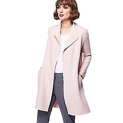 RJR.John Rocha - Pale pink coatigan