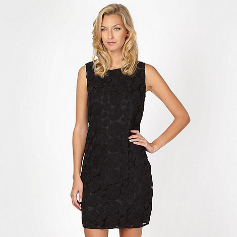 RJR.John Rocha - Designer black circle lace dress