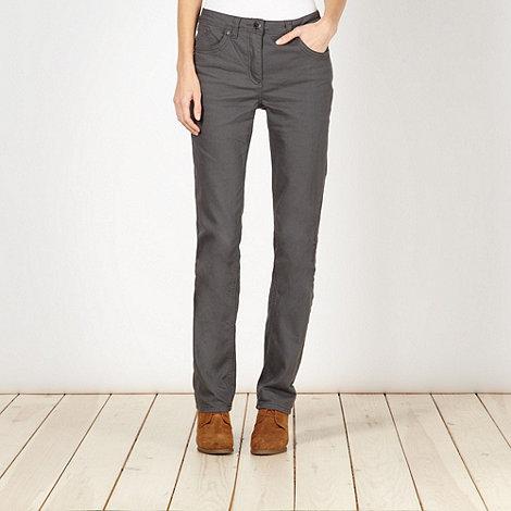 RJR.John Rocha - Designer grey straight leg jeans