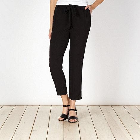 RJR.John Rocha - Designer black belted trousers