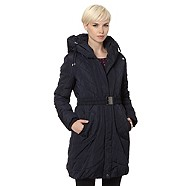 Designer navy padded coat - RJR John Rocha   Was £89.00  Now £66.75