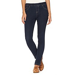 RJR.John Rocha - Designer navy elasticated jeggings