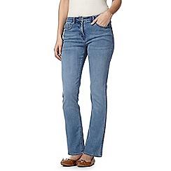 RJR.John Rocha - Designer pale blue 'Elsa' straight leg shape enhancing jeans