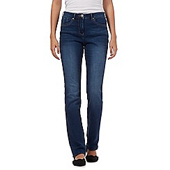 RJR.John Rocha - Blue wash shape enhancing 'Elsa' straight leg long jeans