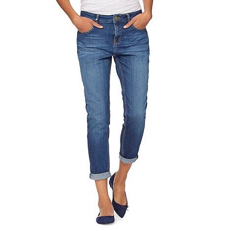 RJR.John Rocha - Designer mid blue +Sydney+ boyfriend jeans