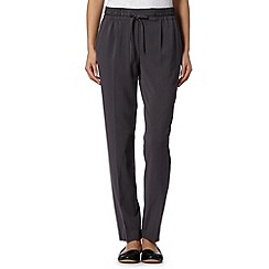RJR.John Rocha - Designer dark grey soft crepe trousers