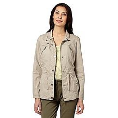 RJR.John Rocha - Designer beige four pocket cotton jacket