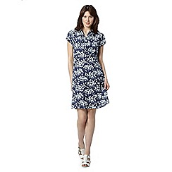 RJR.John Rocha - Designer navy bird shirt dress