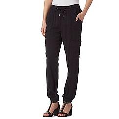 RJR.John Rocha - Designer black cargo trousers
