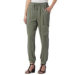 RJR.John Rocha - Designer khaki cargo trousers