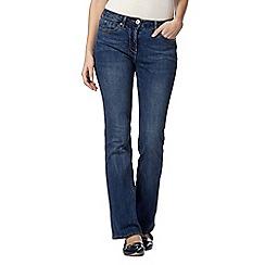 RJR.John Rocha - Designer mid blue 'Jenna' slim bootcut shape enhancing jeans